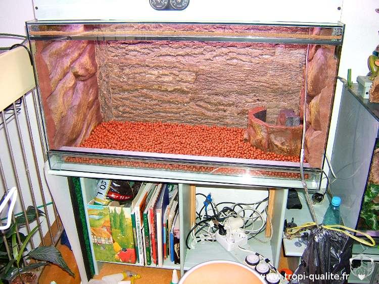 la r alisation d un terrarium pour plantes piphytes. Black Bedroom Furniture Sets. Home Design Ideas